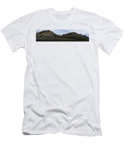 Arctic Mountain Landscape Men's T-Shirt (Athletic Fit)