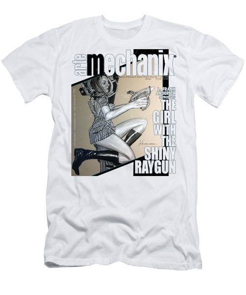 arteMECHANIX 1906 The GIRL WITH The SHINY RAYGUN GRUNGE Men's T-Shirt (Athletic Fit)