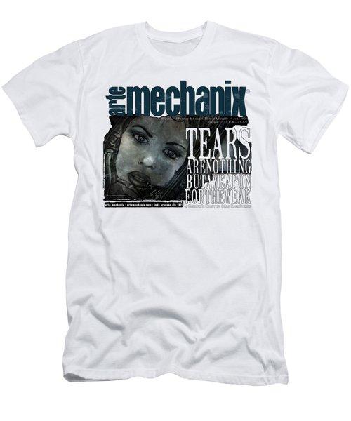 arteMECHANIX 1927 A WEAPON FOR THE WEAK  GRUNGE Men's T-Shirt (Athletic Fit)