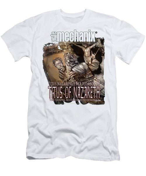 arteMECHANIX 1928 TITUS OF NAZARETH GRUNGE Men's T-Shirt (Athletic Fit)