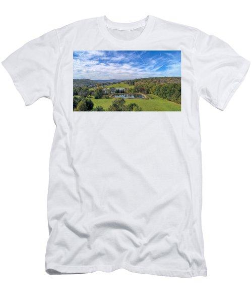 Artistic Hdr Sky  Men's T-Shirt (Athletic Fit)