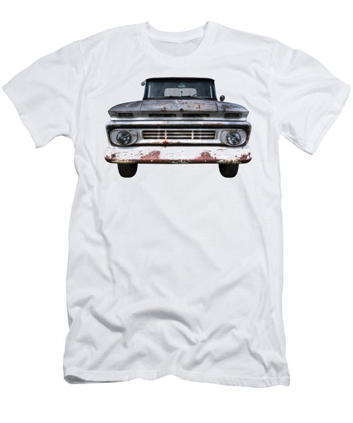 Rust And Proud - 62 Chevy Fleetside Men's T-Shirt (Athletic Fit)