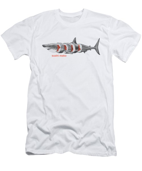 Sushi Mako Men's T-Shirt (Athletic Fit)