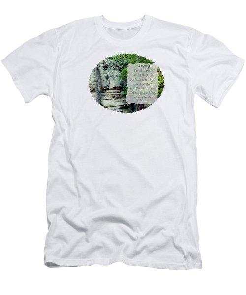 Rock Group - Verse Men's T-Shirt (Athletic Fit)