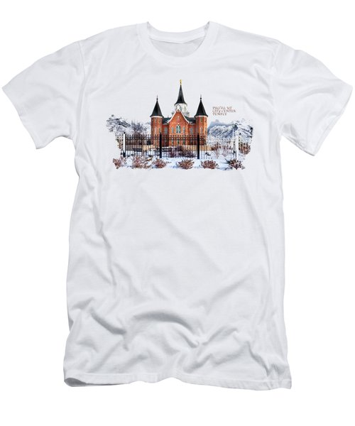 Provo City Center Temple Canvas Print, Photographic Print, Art Print, Framed Print, Greeting Card, Men's T-Shirt (Athletic Fit)