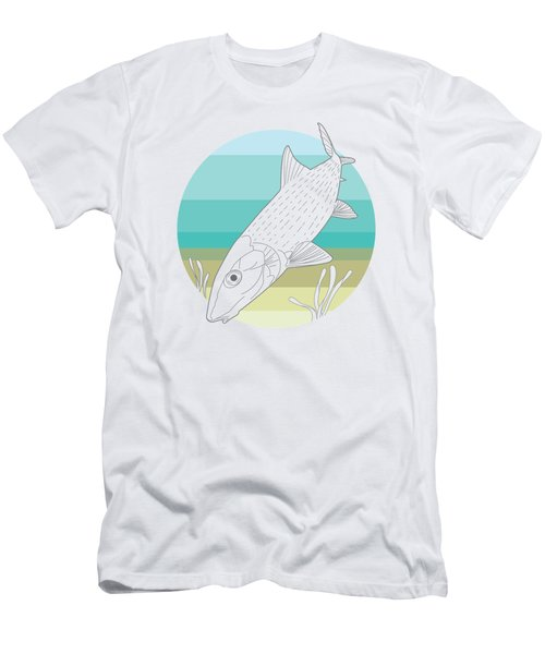 Flats Ghost Men's T-Shirt (Athletic Fit)