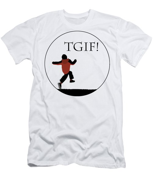 Tgif - Transparent Men's T-Shirt (Athletic Fit)