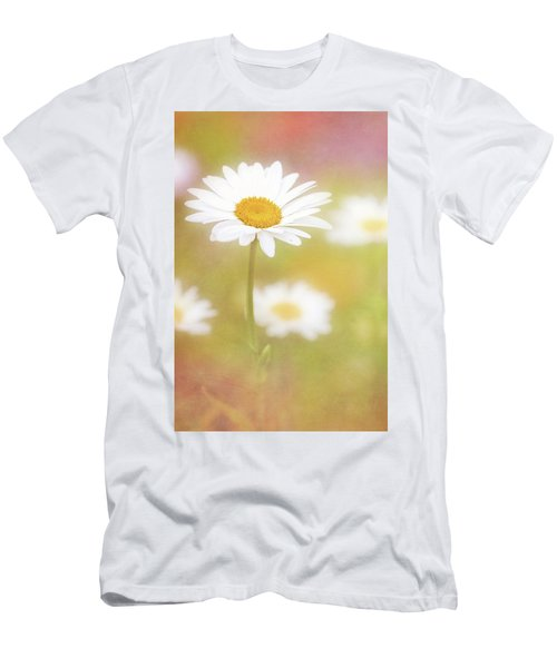 Delightful Daisy Portrait Men's T-Shirt (Athletic Fit)