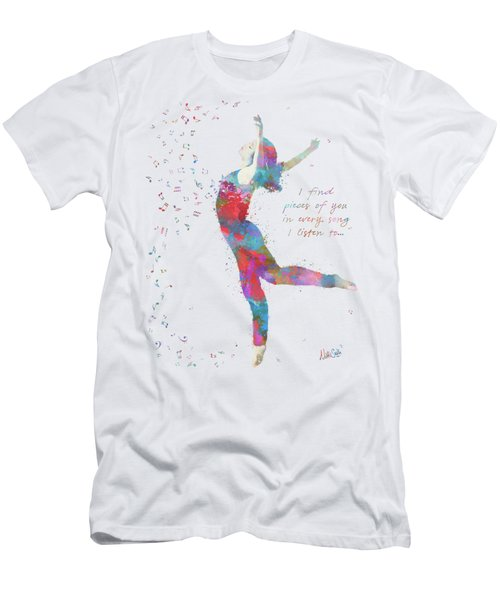 Beloved Deanna Radiating Love And Light Men's T-Shirt (Athletic Fit)