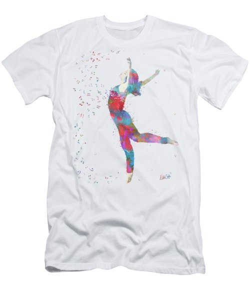 Beloved Deanna Radiating Love Men's T-Shirt (Athletic Fit)