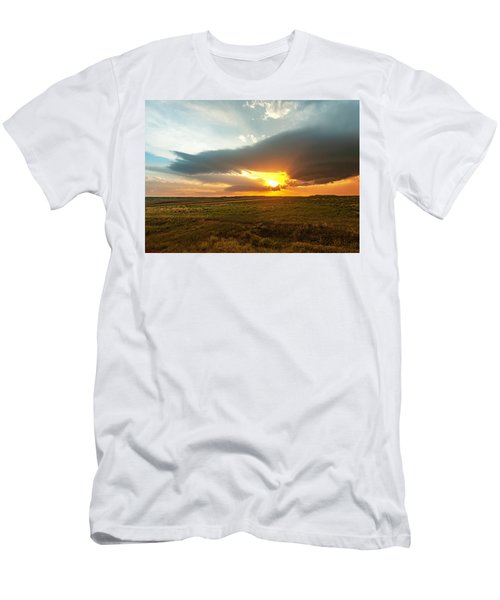 As The Sun Is Setting Men's T-Shirt (Athletic Fit)