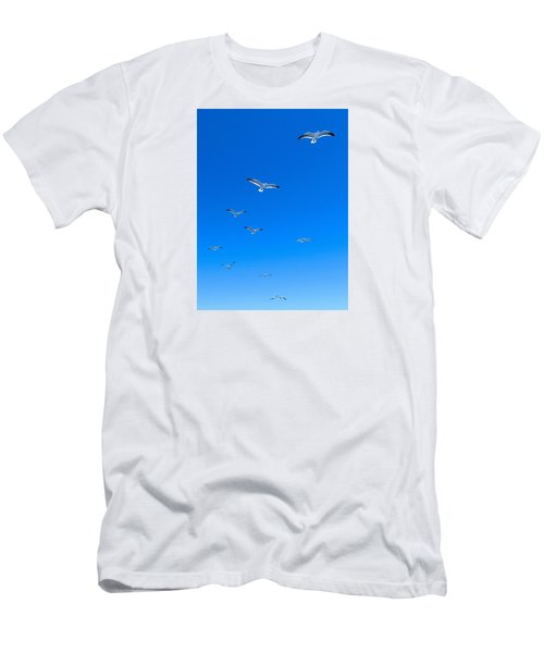 Men's T-Shirt (Athletic Fit) featuring the photograph Ascending To Heaven by Eduardo Jose Accorinti