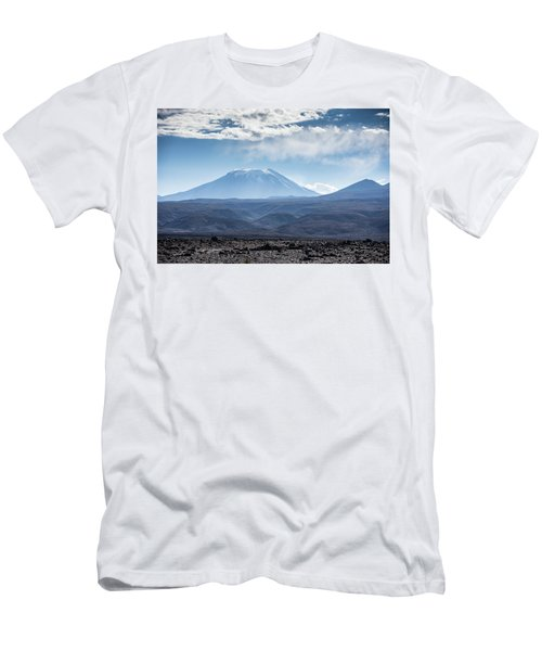 Atacama Volcano Men's T-Shirt (Athletic Fit)