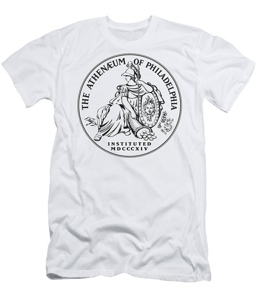 Athenaeum Of Philadelphia Logo Men's T-Shirt (Athletic Fit)