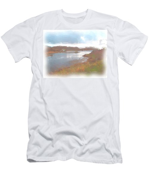 Atlantic View Men's T-Shirt (Athletic Fit)