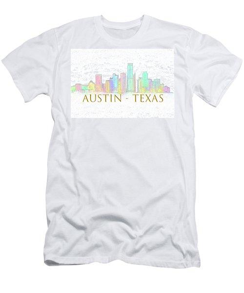 Austin Skyline Men's T-Shirt (Athletic Fit)