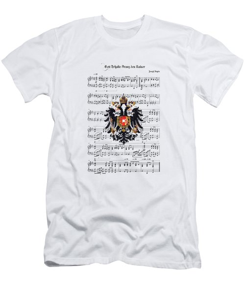 Austrian Emperor's Hymn  Men's T-Shirt (Athletic Fit)
