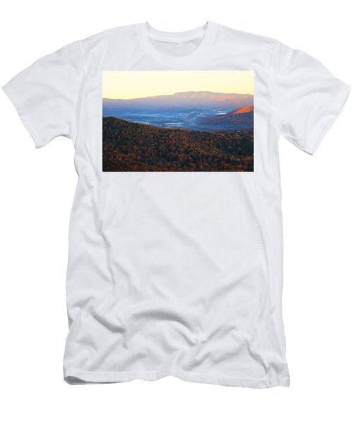 Autumn Mountains  Men's T-Shirt (Athletic Fit)