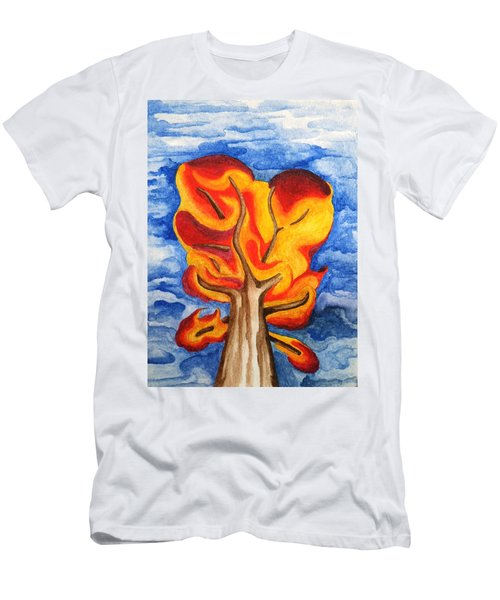 Autumn Tree 2019 II Men's T-Shirt (Athletic Fit)