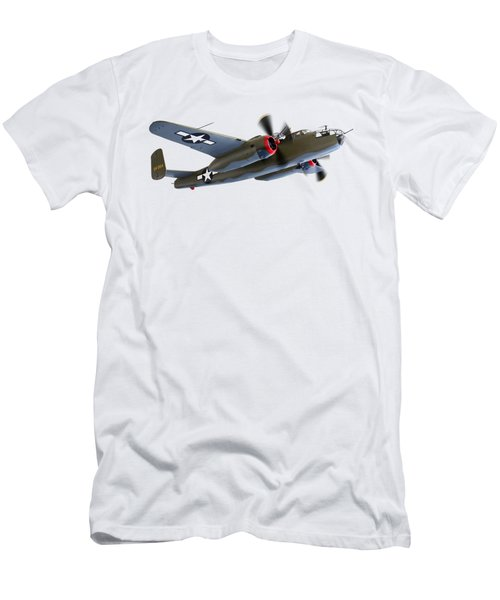 B-25 Mitchell Bomber Men's T-Shirt (Athletic Fit)