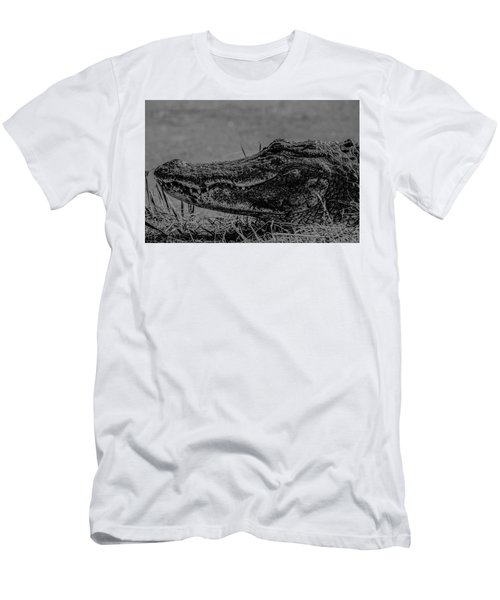B And W Gator Men's T-Shirt (Athletic Fit)