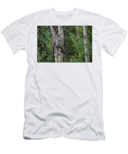 Men's T-Shirt (Athletic Fit) featuring the photograph B18 by Joshua Able's Wildlife