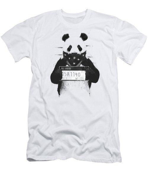 Bad Panda Men's T-Shirt (Athletic Fit)