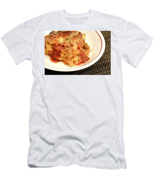 Baked Ziti Serving 2 Men's T-Shirt (Athletic Fit)