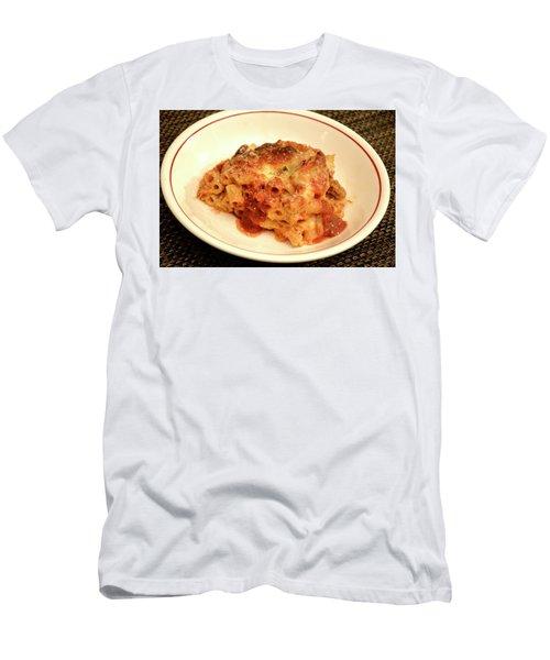 Baked Ziti Serving Men's T-Shirt (Athletic Fit)