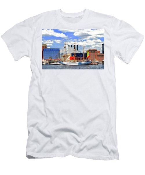 Baltimore's 2012 Sailibration Men's T-Shirt (Athletic Fit)