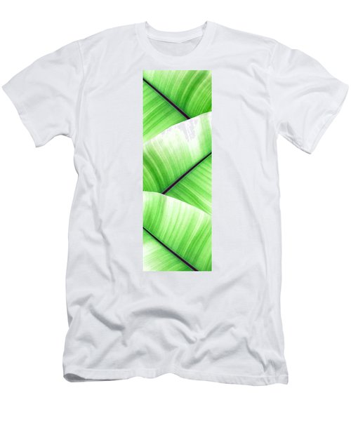 Banana Leaves Men's T-Shirt (Athletic Fit)
