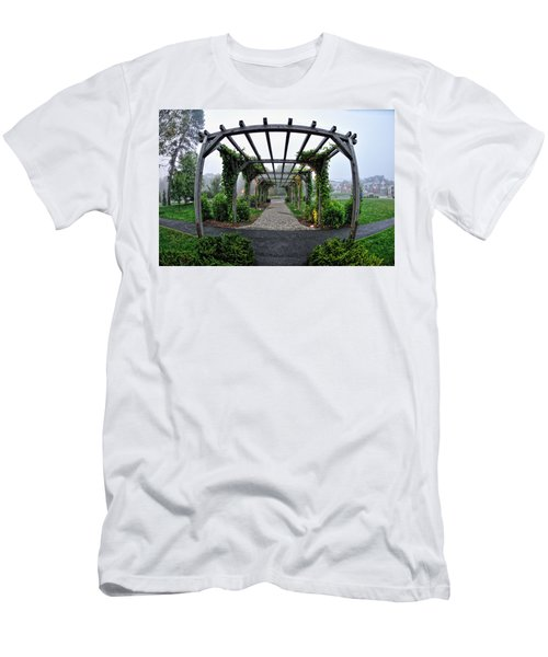 Bar Harbor Pergola Men's T-Shirt (Athletic Fit)