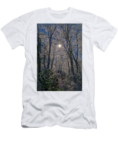 Bass Lake Frosty Men's T-Shirt (Athletic Fit)