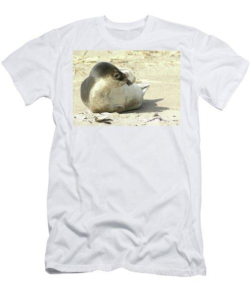 Beach Seal Men's T-Shirt (Athletic Fit)