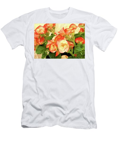 Begonia Beguiled Men's T-Shirt (Athletic Fit)