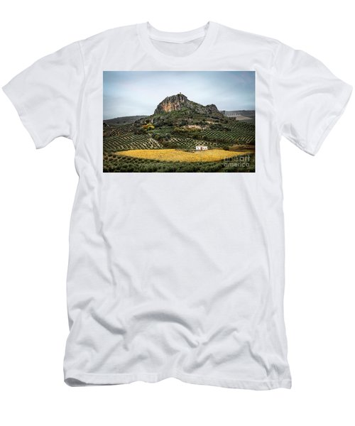 Beyond The Olive Tree Hills Men's T-Shirt (Athletic Fit)