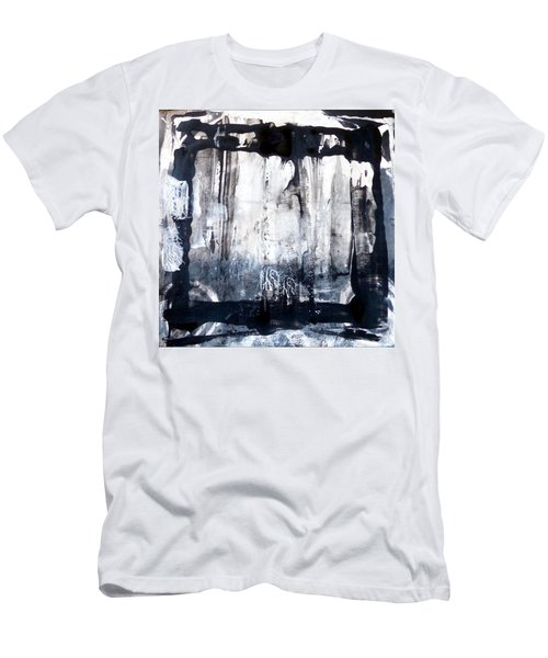 Men's T-Shirt (Athletic Fit) featuring the painting Birch by 'REA' Gallery