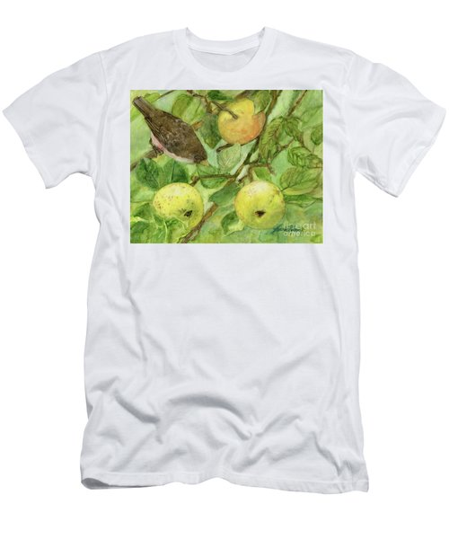Bird And Golden Apples Men's T-Shirt (Athletic Fit)
