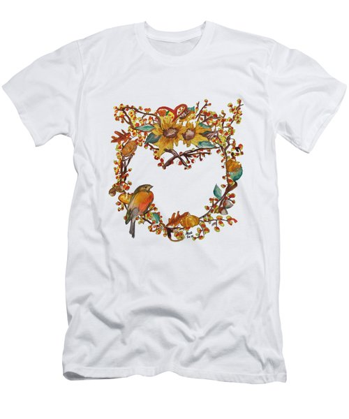 Bittersweet Wreath Men's T-Shirt (Athletic Fit)
