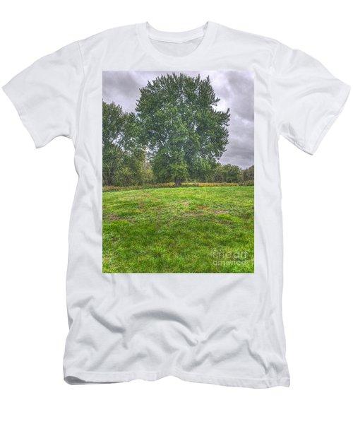 Blacklick Circle Earthwork Men's T-Shirt (Athletic Fit)