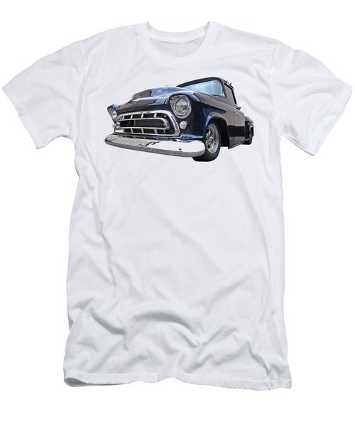 Blue 57 Stepside Chevy Men's T-Shirt (Athletic Fit)