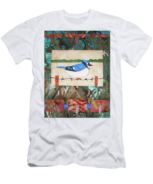 Blue Bird Men's T-Shirt (Athletic Fit)