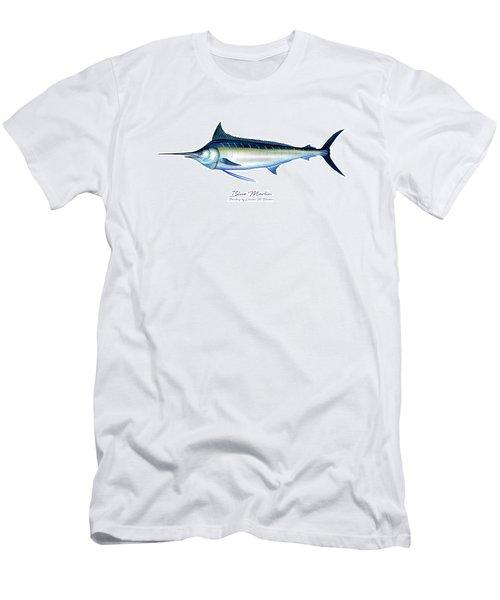 Blue Marlin Men's T-Shirt (Athletic Fit)