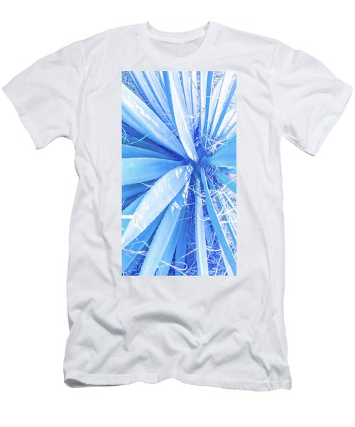 Blue Rays Men's T-Shirt (Athletic Fit)
