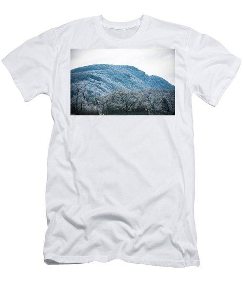 Blue Ridge Mountain Top Men's T-Shirt (Athletic Fit)