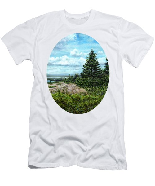 Blueberries On Cadillac Mountain Men's T-Shirt (Athletic Fit)