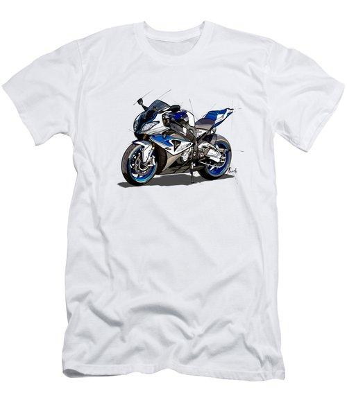 bmw motorcycle hp4. Original artwork. Original gift for bikers Men's T-Shirt (Athletic Fit)