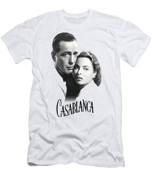 Bogart And Bergman - Casablanca Love 1941 - T-shirt Men's T-Shirt (Athletic Fit)