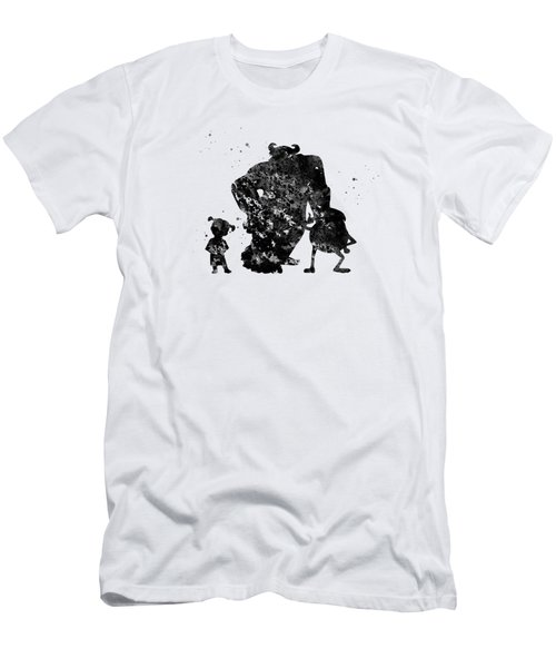 Boo,sullivan And Mike Men's T-Shirt (Athletic Fit)