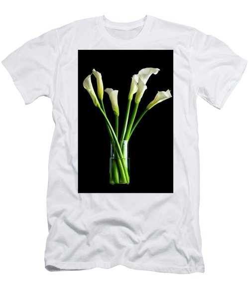 Bouquet Of Calla Lilies Men's T-Shirt (Athletic Fit)